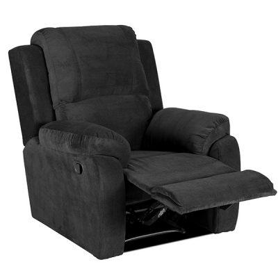 bellair ds black recliner
