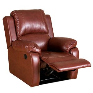 bellair pu shoeleather recliner