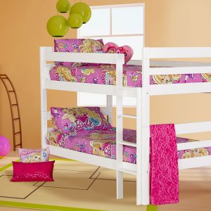 canterbury white bunk bed