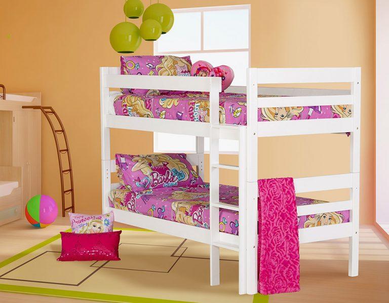 canterbury white bunk bed