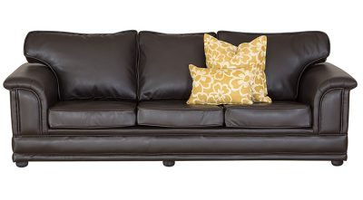 comfort leather couch