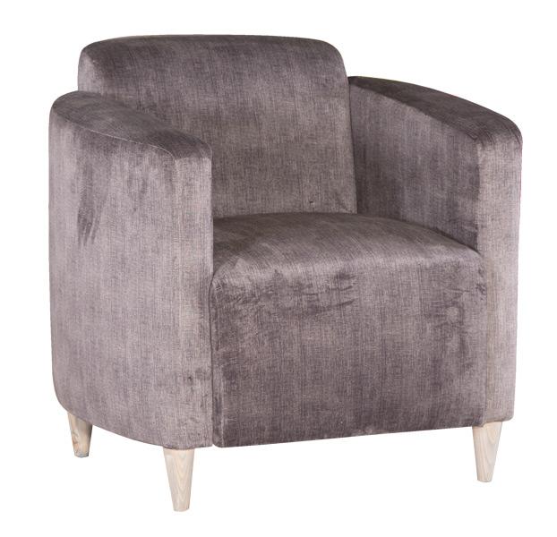 tub eve velvet chair
