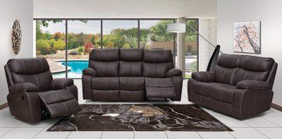 leo fabric motion lounge