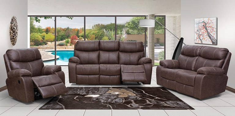 leo leather motion suite