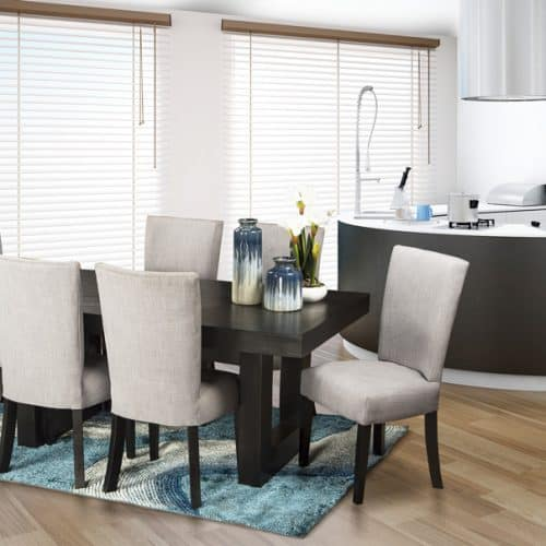 Cosmo Black Dining Room Suite