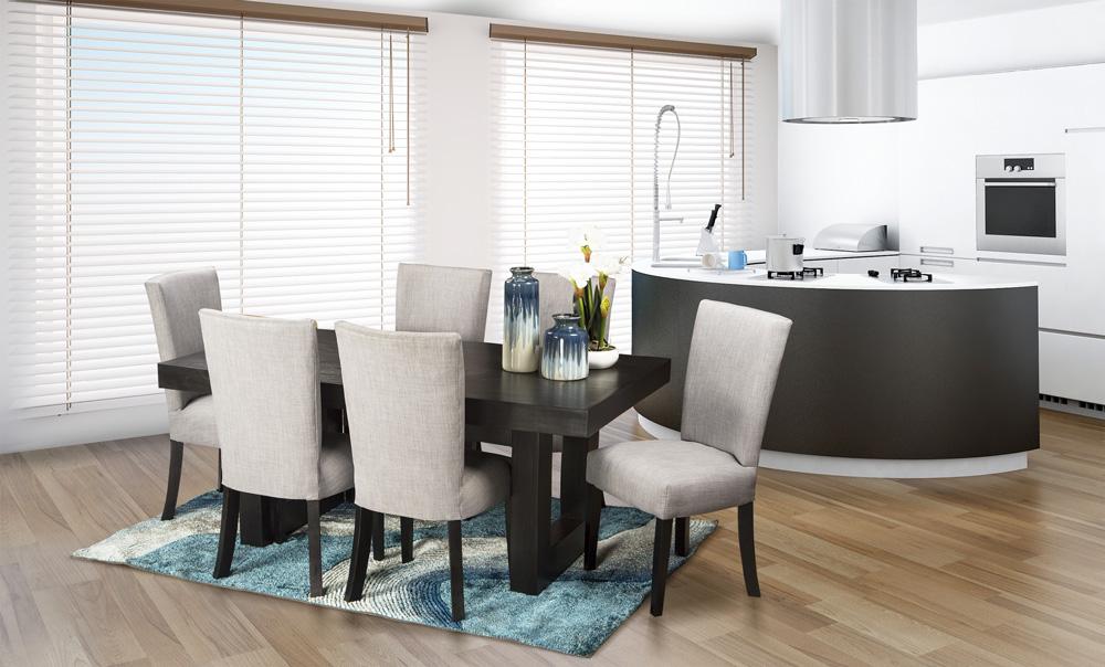 Cosmo Black Dining Room Suite