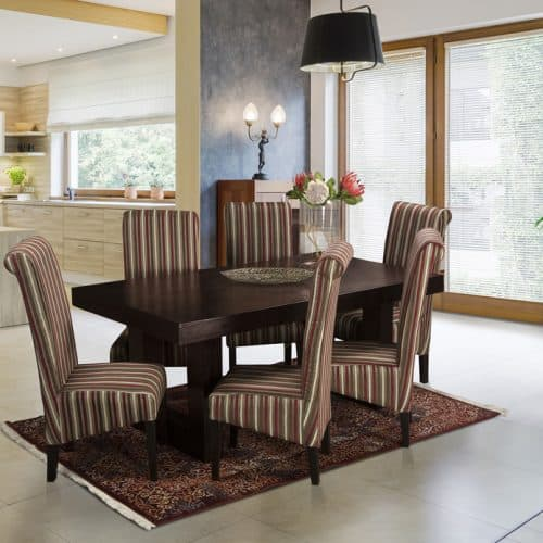 Cosmo Mahogany Dining Room Suite