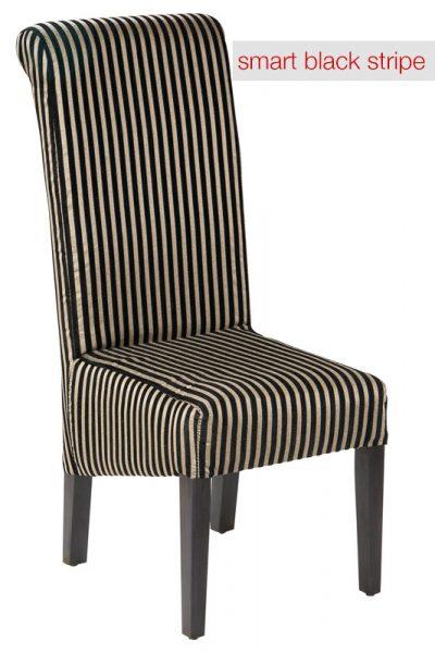 Hyatt Chair Smart Black Stripe