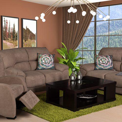 Nixon Cashmere fabric lounge