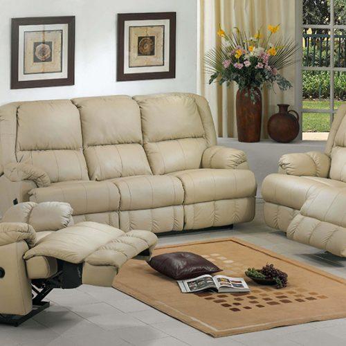 madison leather lounge
