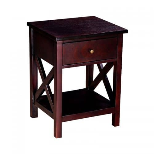 cambridge pedestal bedside table