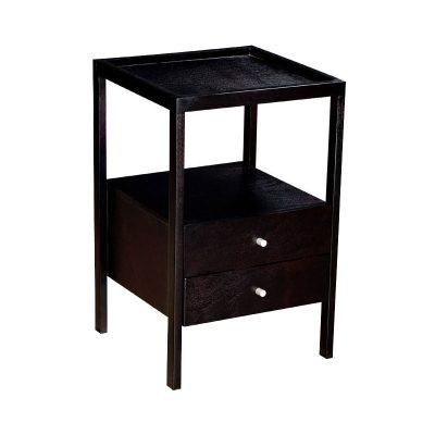 gia dark mahogany pedestal