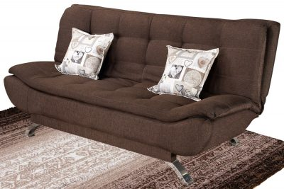 Booysen sleeper couch brown