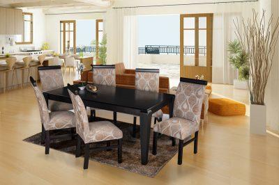 barcelona p chairs lorenzo dining table