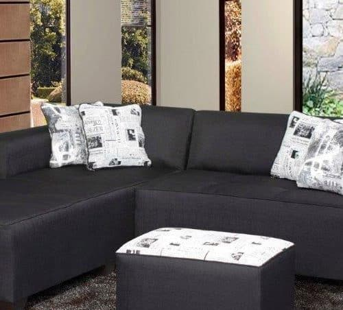 ares 3 piece fabric lounge set