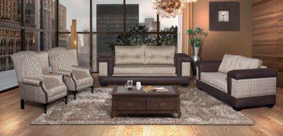 hera fabric 4 piece lounge suite