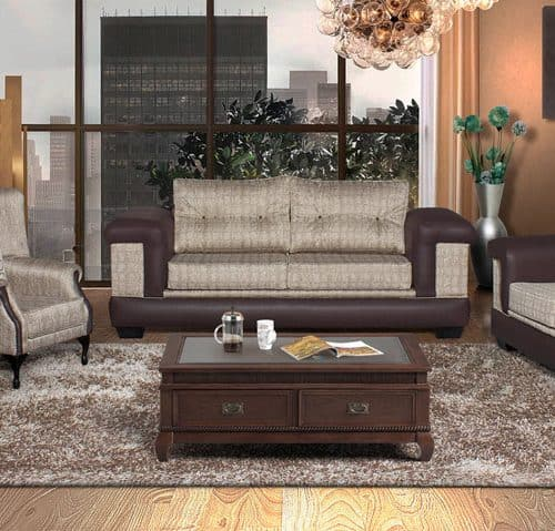 hera fabric 4 piece lounge suite