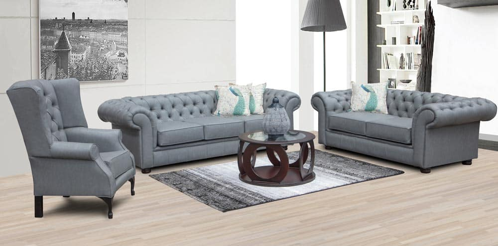 chesterfield lounge suite combo