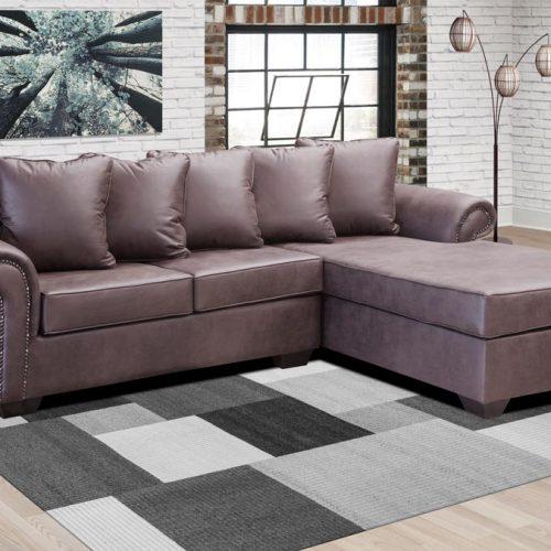 demeter corner fabric sofa